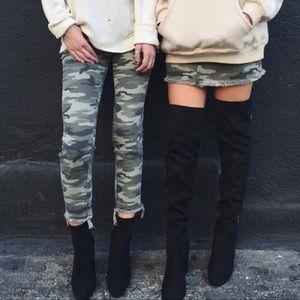 LF camo jeans